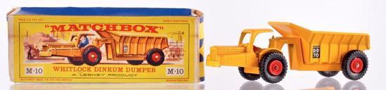 Matchbox Major Pack M-10 Whitlock Dinkum Dumper Die-Cast Vehicle with Original Box