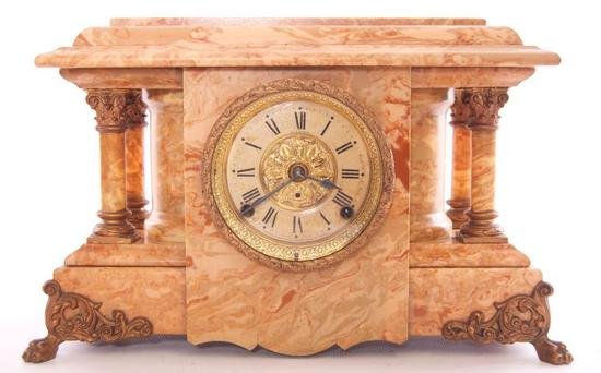 Antique Seth Thomas Mantle Clock with Claw Feet