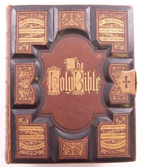 1871 Camburn Family Holy Bible