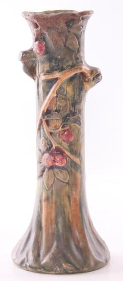 Vintage Weller Pottery Vase with Floral Design