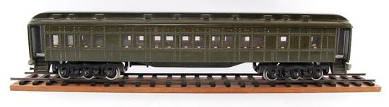 Antique Pullman L-19 Cast Iron Passenger Train Car