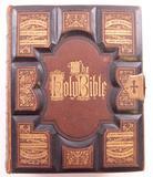 1871 Camburn Family Holy Bible