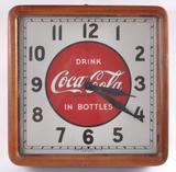 Vintage Coca Cola Advertising Clock