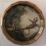 Framed Victorian style print