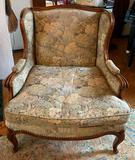 Vintage floral pattern chair