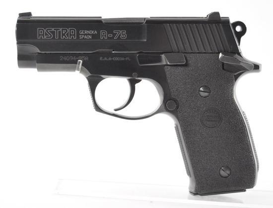 Astra Model A-75 .45 Auto Cal. Semi Auto Pistol with Case