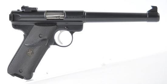 Ruger Mark II .22 LR Cal. Semi Auto Target Pistol with Original Box