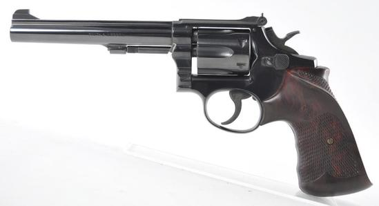Smith and Wesson Model 17-2 .22 LR Cal. Revolver with Original Box
