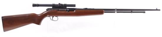 Remington Model 550-1 .22 S,L, and LR. Cal. Semi Auto Rifle with Scope