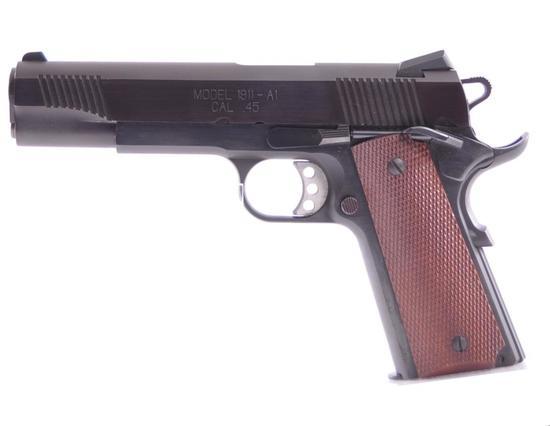 Springfield Armory Model 1911-A1 .45 Cal. Semi Auto Pistol