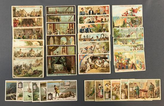 Group of Liebig Trade Cards, 6 Collections