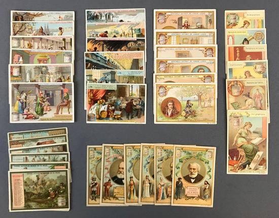 Group of 6 Sets of Liebig Trade Card