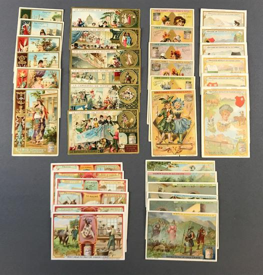 Group of 6 Sets of Liebig Trade Cards