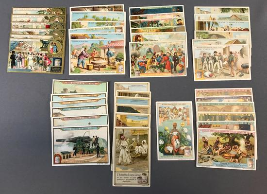 Group of 8 Sets of Liebig Trade Cards