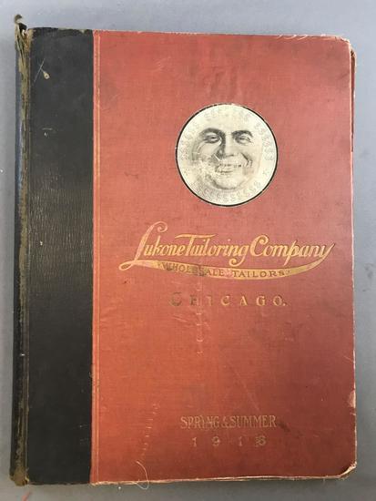 Vintage ephemera scrapbook