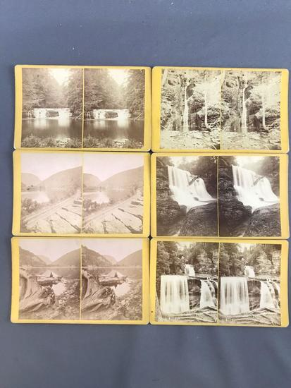 Group of 15 vintage Stereoscope Cards
