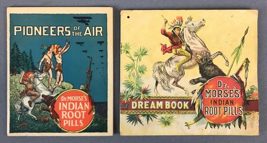 Antique Dr Morse Indian Root Pills Booklets