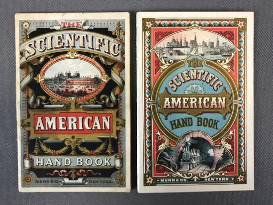 Antique Scientific American Hand Books