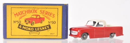 Matchbox No. 50 Commer Pickup Die-Cast Vehicle with Original Box