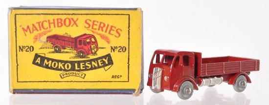 Matchbox No. 20 Stake Truck Die-Cast Vehicle with Original Box