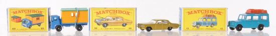Group of 3 Matchbox Die-Cast Vehicles with Original Boxes