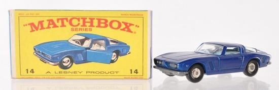 Matchbox No. 14 ISO Grifo Die-Cast Vehicle with Original Box
