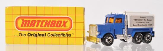 "Matchbox No. 56 Peperbilt Tanker ""Matchbox"" Toy Museum Die-Cast Vehicle with Original Box"