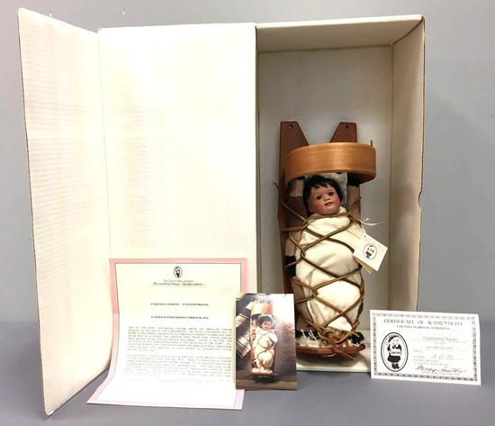 Lawtons Cradleboard/Navajo Limited Edition Doll