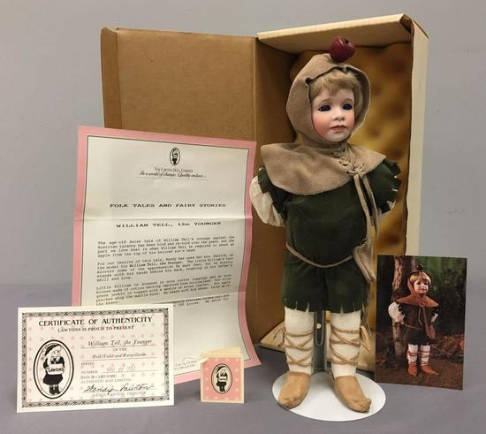 Lawtons William Tell, the Younger Doll