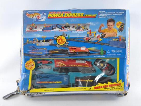 Hot Wheels Power Express Train Set with Original Box