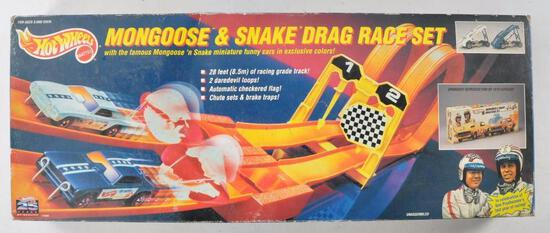 Hot Wheels Mongoose and Snake Drag Race Set with Original Box