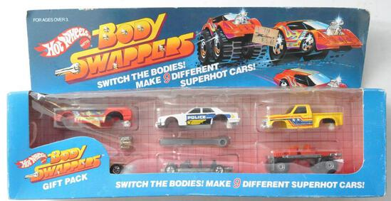 Hot Wheels Body Swappers Gift in Original Packaging