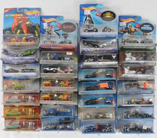 Group of 29 Hot Wheels 2 Vehicle Die-Cast Gift Sets