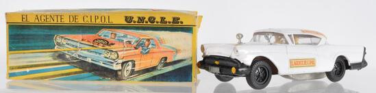 Argentina Market Carlos V U.N.C.L.E. Patrol Friction Car with Original Box