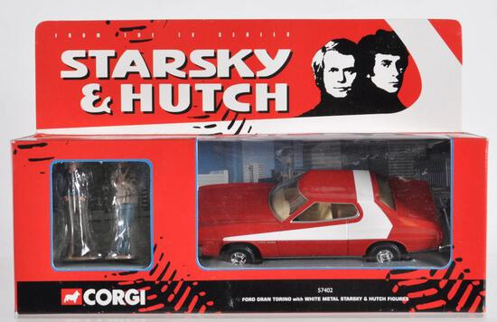 Corgi Starsky and Hutch Die-Cast Car in Original Packaging