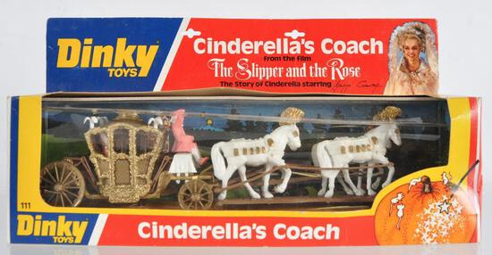 Dinky Toys Cinderella's Coach Die-Cast Vehicle in Original Packaging