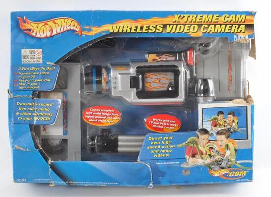 Hot Wheels X'Treme Cam Wireless Video Camera in Original Box