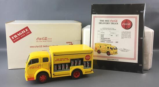 Danbury Mint 1955 Coca-Cola Die-cast Delivery Truck