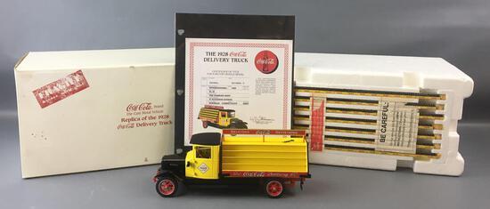 Danbury Mint 1928 International SL-36 Coca-Cola Die-cast Delivery Truck