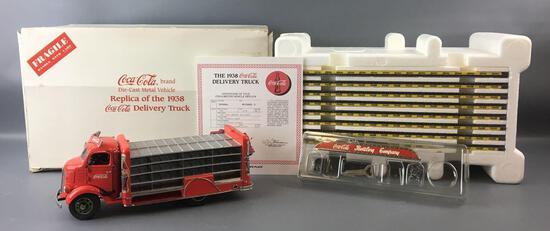 Danbury Mint 1938 Coca-Cola Die-cast Delivery Truck