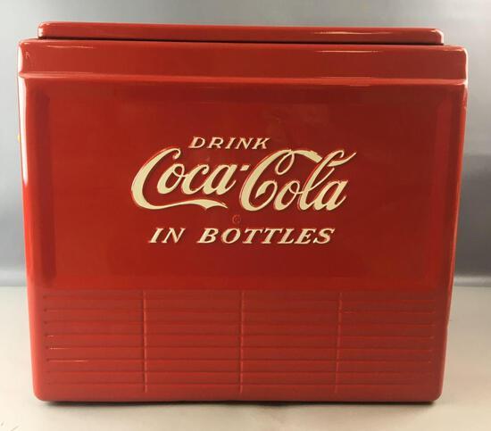 Vintage Coca-Cola Progress Model A-50 Metal Cooler