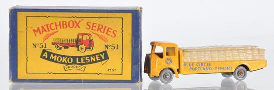 Matchbox No. 51 Albion Cheiftain Die-Cast Vehicle with Original Box