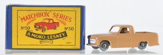 Matchbox No. 50 Commer Pick-Up Die-Cast Vehicle with Original Box