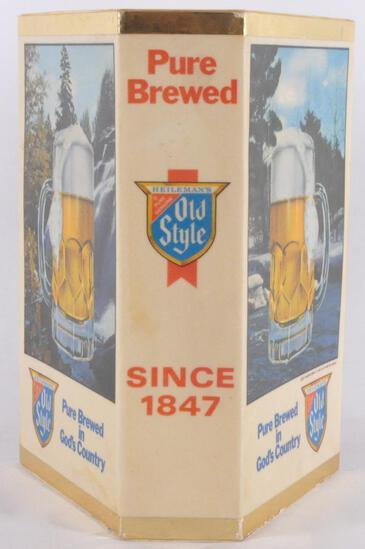 Vintage Heilman's Old Style Light Up Advertising Beer Sign