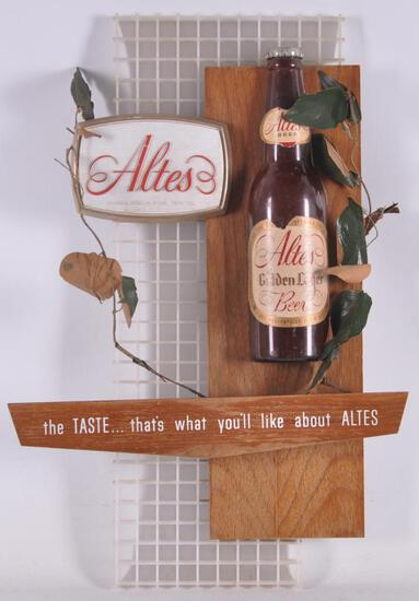 Vintage Altes Advertising Beer Sign