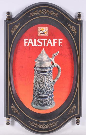 Vintage Falstaff Advertising Beer Sign