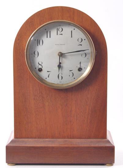Antique Seth Thomas Mahogany Mantle Clock