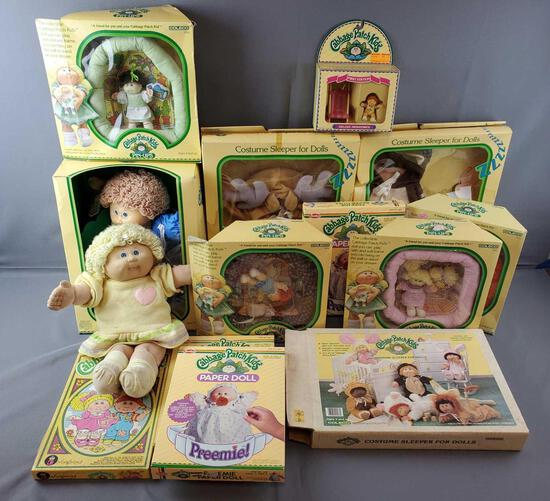 Group of 14 Vintage Cabbage Patch Kids
