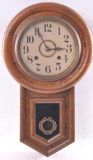 Antique Wall Hanging Clock