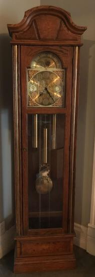 Howard Miller vintage grandfather clock
